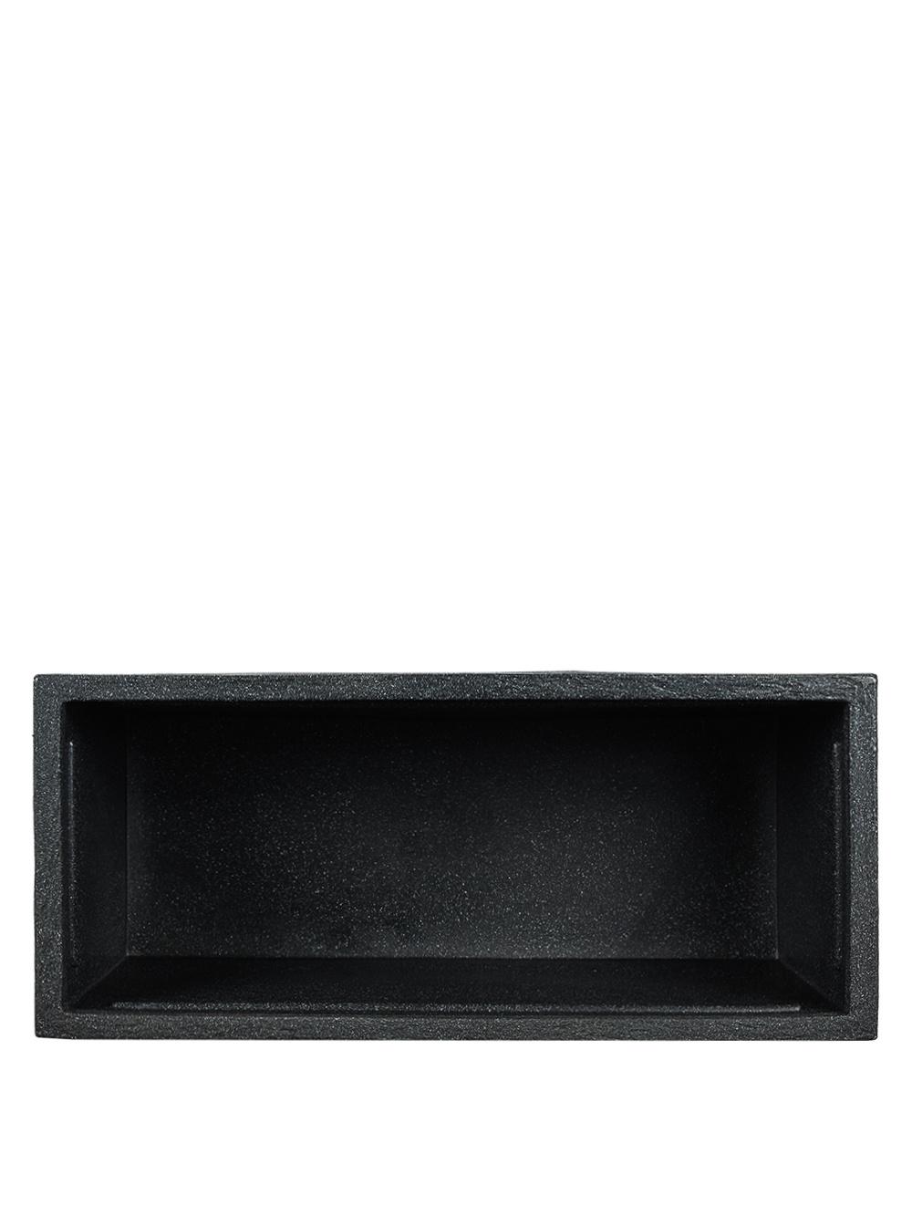 kunststoff pflanzk bel divider in anthrazit 60x60x26cm. Black Bedroom Furniture Sets. Home Design Ideas