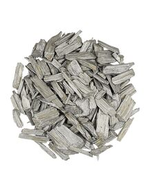 Naturholzflakes 10-50 mm silber (Beutel 5 l)