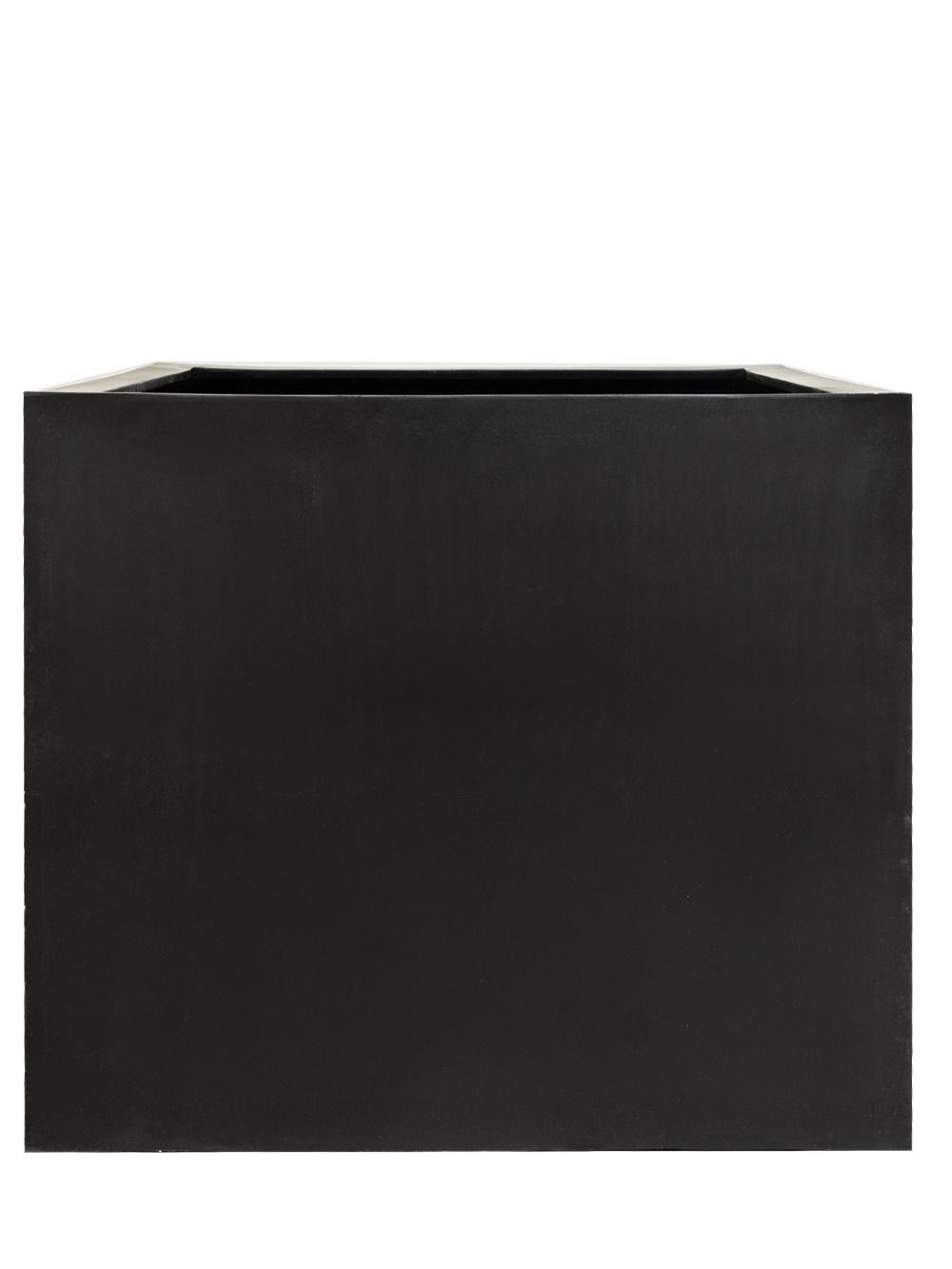 cube fiberglas blumenk bel in 85x100x100cm anthrazit. Black Bedroom Furniture Sets. Home Design Ideas