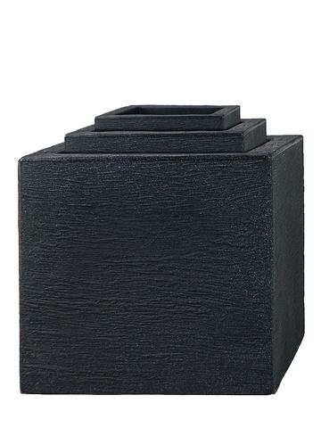 Pflanzkübel aus Kunststoff im 3er Set Cubes