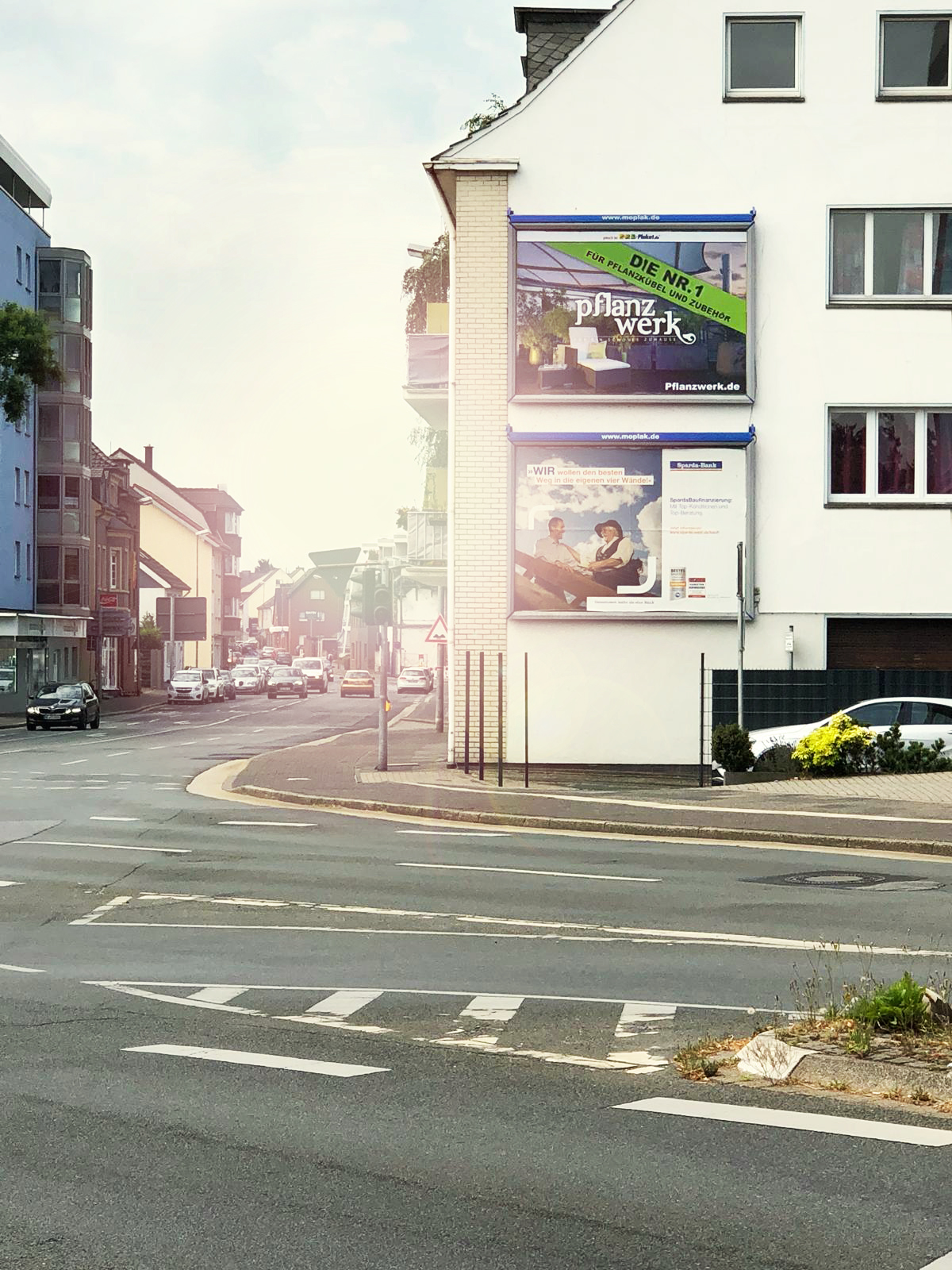 Pflanzwerk Plakatwerbung in Moers / Nordrhein Westfalen
