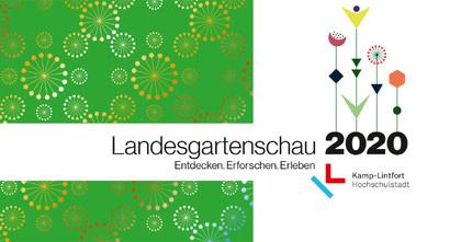 Landesgartenschau Kamp-Lintfort mit Pflanzwerk