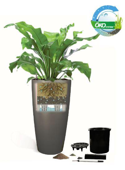 Pflanzgefäße mit Bewässerungssystem